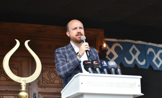 Çorum Gençlik Obası'nın açılışını Bilal Erdoğan yaptı